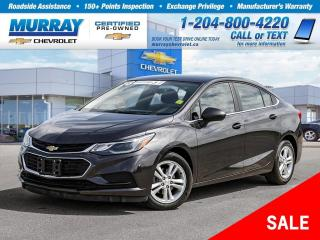 Used 2016 Chevrolet Cruze LT Auto *Heated Seats, Remote Start, Wi-Fi Hotspot for sale in Winnipeg, MB
