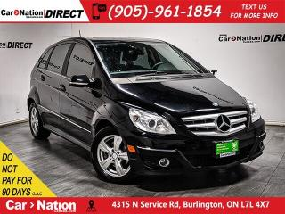 Used 2010 Mercedes-Benz B-Class B200| AS-TRADED| SUNROOF| HEATED SEATS| for sale in Burlington, ON