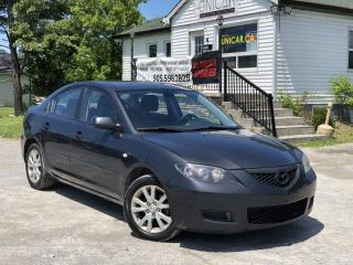 Used 2007 Mazda MAZDA3 No-Accidents GS Power Group A/C for sale in Sutton, ON