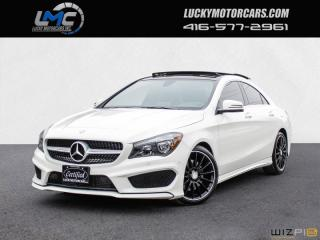 Used 2015 Mercedes-Benz CLA-Class CLA250 4MATIC AMG PKG-PANORAMICROOF-NAV-BLINDSPOT for sale in North York, ON
