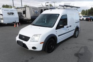 Used 2010 Ford Transit Connect XLT with Ladder Rack and Bulkhead Divider for sale in Burnaby, BC