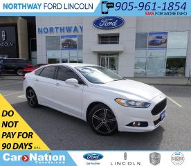 Used 2015 Ford Fusion SE | NAV | HTD LEATHER | LUXURY PKG | TECH PKG | for sale in Brantford, ON