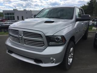 Used 2016 RAM 1500 SPORT CREW CAB CAISSE 6.4 for sale in Ste-Marie, QC