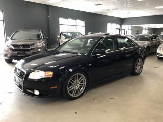 Used 2008 Audi A4 2.0T QUATTRO*S-LINE PKG*6-SPEED MANUAL*CERTIFIED* for sale in North York, ON