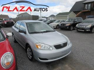 Used 2005 Toyota Corolla CE for sale in Beauport, QC