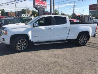 Used 2018 GMC Canyon DENALI CREW CAB 4X4 DURAMAX DIESEL for sale in Beauport, QC