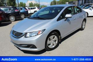 Used 2014 Honda Civic LX **BAS KM** FINANCEMENT FACILE !! for sale in Laval, QC