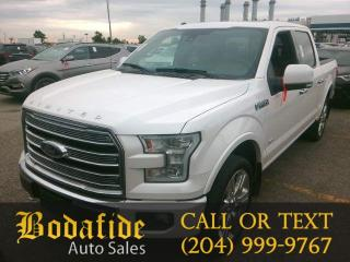 Used 2016 Ford F-150 Limited  for sale in Headingley, MB