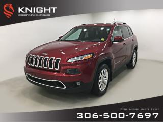 Used 2016 Jeep Cherokee Limited 4x4 V6 | Sunroof | Navigation for sale in Regina, SK