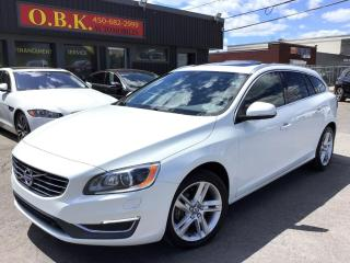 Used 2015 Volvo V60 Awd-Camera De Recul for sale in Laval, QC