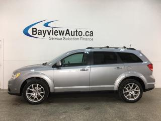 Used 2018 Dodge Journey GT - SUNROOF! 7 PASS! DVD! AWD! NAV! HTD LTHR! for sale in Belleville, ON