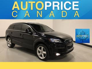 Used 2015 Audi Q7 3.0 TDI Vorsprung Edition VORSPRUNG|NAVIGATION|PANOROOF|LEATHER for sale in Mississauga, ON