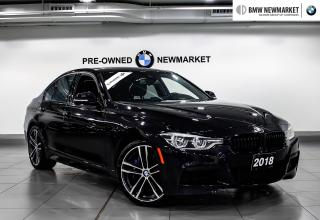 Used 2018 BMW 3 Series 340i xDrive Sedan -NO ACCIDENTS|LOW KMS| for sale in Newmarket, ON