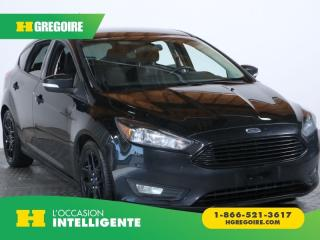 Used 2016 Ford Focus SE MAGS CAMERA RECUL for sale in St-Léonard, QC