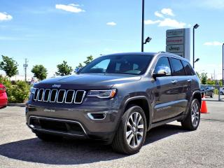 Used 2018 Jeep Grand Cherokee LIMITED *CUIR*TOIT PANO*GPS* for sale in Brossard, QC