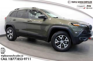 Used 2015 Jeep Cherokee 4x4 Trailhawk PARK ASSIST ADAPTIVE CRUISE for sale in Regina, SK