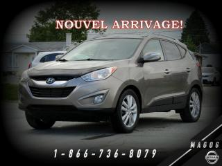 Used 2011 Hyundai Tucson LIMITED + AWD + TOIT PANO + CUIR + MAGS for sale in Magog, QC