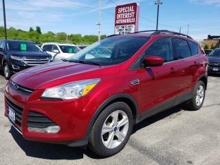 Used 2015 Ford Escape SE BLUE TOOTH !!  LEATHER !!  REAR CAMERA !! for sale in Cambridge, ON