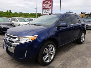 Used 2012 Ford Edge Limited NAVIGATION !!  LEATHER !!  REAR CAMERA !! for sale in Cambridge, ON