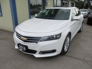 Used 2018 Chevrolet Impala LIKE NEW LT MODEL 5 PASSENGER 3.6L - V6.. LEATHER.. HEATED SEATS.. POWER SUNROOF.. BACK-UP CAMERA.. BLUETOOTH.. for sale in Bradford, ON