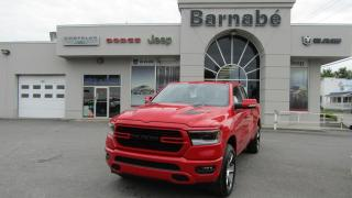 Used 2019 RAM 1500 SPORT + CAPOT + 20 POUCES + ECRAN 8.4 + for sale in Napierville, QC
