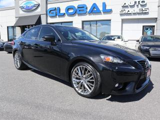 Used 2015 Lexus IS 250 AWD NAVIGATION CAMERA SUPER CLEAN. for sale in Ottawa, ON