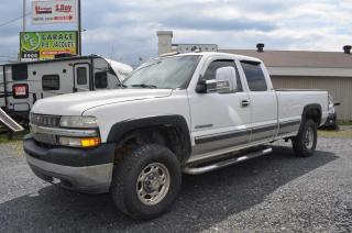 Used 2001 Chevrolet Silverado 2500 Cabine allongée for sale in St-Georges-Est, QC