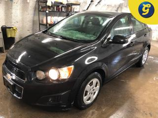 Used 2014 Chevrolet Sonic Phone connect * Voice recognition * On star * Hands free steering wheel controls * Keyless entry * Climate control * Cruise control * Traction control for sale in Cambridge, ON