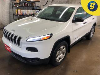 Used 2015 Jeep Cherokee 4 X 4 * Phone connect * Voice recognition * Keyless entry * Climate control * Hands free Steering wheel controls * Power windows/mirrors/locks * Auto for sale in Cambridge, ON