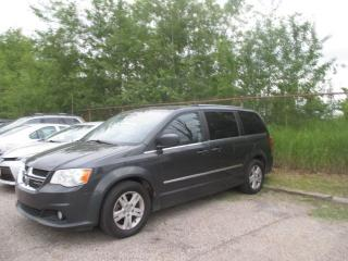 Used 2012 Dodge Grand Caravan Crew Plus Leather for sale in Waterloo, ON