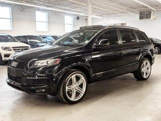 Used 2015 Audi Q7 SPORT/LANE DEPARTURE/7PASS/REAR SUNSHADES/COOLED SEATS! for sale in Toronto, ON