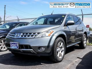 Used 2007 Nissan Murano SL for sale in Burlington, ON