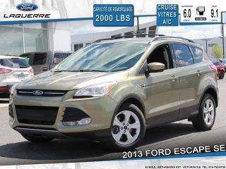 Used 2013 Ford Escape SE BLUETOOTH A/C for sale in Victoriaville, QC