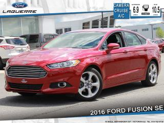 Used 2016 Ford Fusion Se Bluetooth Cruise for sale in Victoriaville, QC
