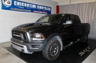 Used 2018 RAM 1500 Rebel cabine d'équipe 4x4 caisse de 5 pi for sale in Chicoutimi, QC