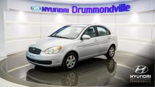 Used 2007 Hyundai Accent GL + 71 983 KM + A/C + WOW for sale in Drummondville, QC