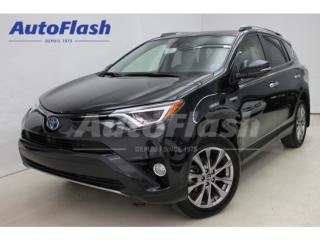 Used 2017 Toyota RAV4 Ltd Hybride for sale in St-Hubert, QC