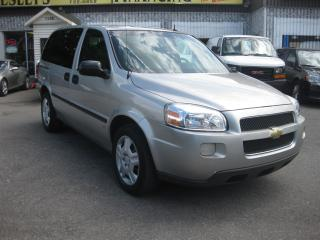 Used 2007 Chevrolet Uplander LS Auto FWD 7pass AC Cruise PL PM PW for sale in Ottawa, ON