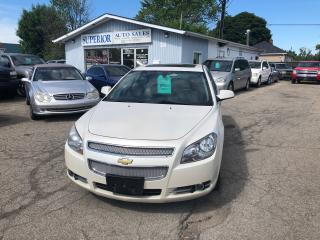 Used 2010 Chevrolet Malibu LTZ for sale in St Catharines, ON