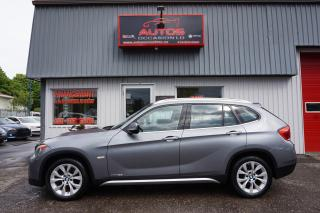 Used 2012 BMW X1 X1 XDRIVE28I AWD CUIR BRUN TOIT PANORAMIQUE MAGS for sale in Lévis, QC