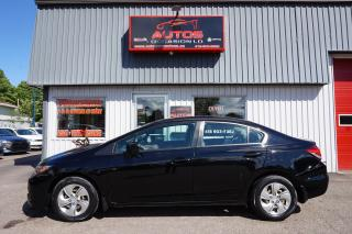 Used 2014 Honda Civic LX A/C for sale in Lévis, QC