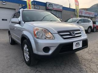 Used 2006 Honda CR-V EX-L | AWD | Sunroof | Leather | Automatic for sale in Oakville, ON