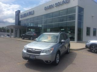 Used 2015 Subaru Forester i Touring for sale in Owen Sound, ON