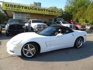 Used 2008 Chevrolet Corvette 6.2 V8 436HP NAV HUD for sale in Ottawa, ON