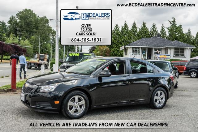 2011 Chevrolet Cruze LT Turbo+ 4-Cyl, Power Sunroof, Alloys, Very Clean