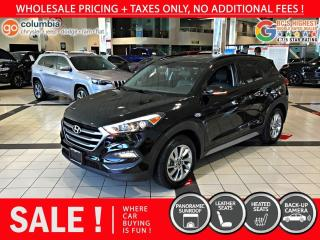Used 2018 Hyundai Tucson SE AWD - Local / PanoSunroof / Leather for sale in Richmond, BC