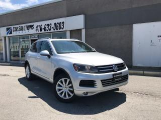 Used 2011 Volkswagen Touareg TDI-NAVI-CAMERA-SN ROOF for sale in Toronto, ON