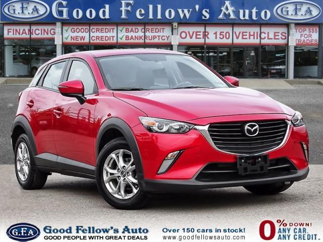 2016 Mazda CX-3 GS MODEL, 4 CYL, FWD, SKYACTIV, HEATED FRONT SEATS