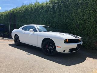 Used 2017 Dodge Challenger SXT BLACKTOP + SUNROOF + LEATHER HEATED/VENT FT SEATS + RR PARK ASSIST + NO EXTRA DEALER FEES for sale in Surrey, BC