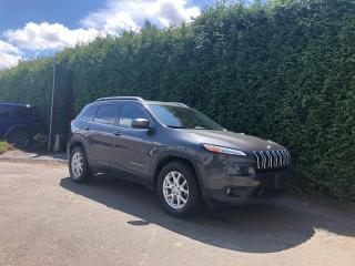 Used 2016 Jeep Cherokee NORTH + HEATED FT SEATS + DUAL-PANE SUNROOF + POWER LIFTGATE + NO EXTRA DEALER FEES for sale in Surrey, BC